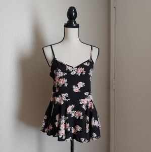 Floral tank top NWT